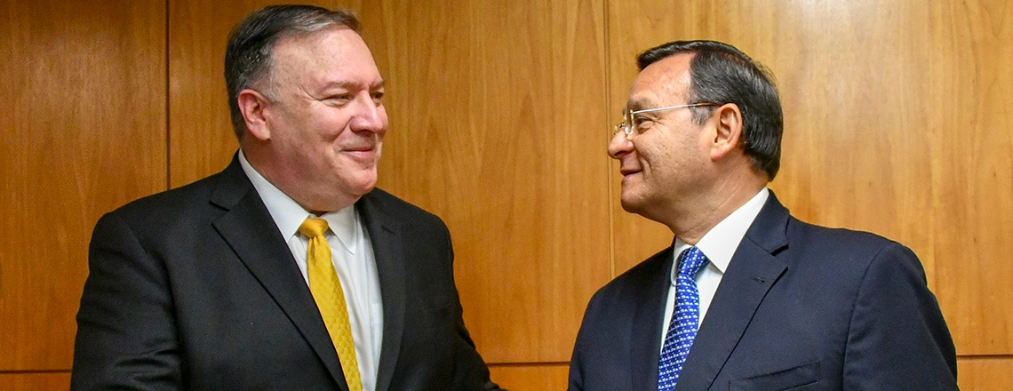 Secretary Pompeo's Meeting With Peruvian Foreign Minister Néstor Popolizio